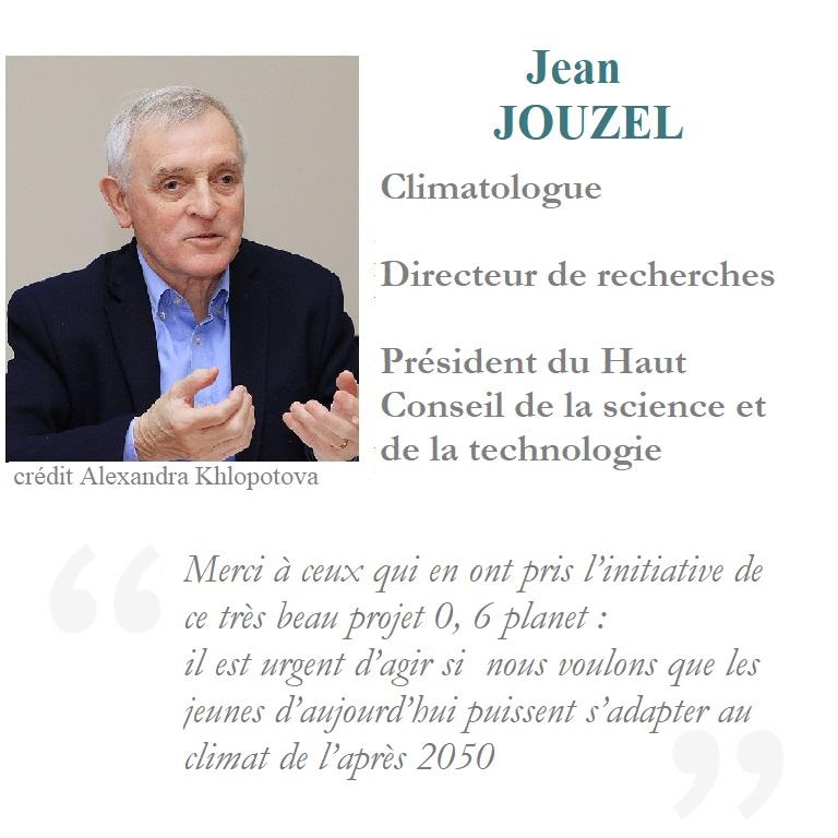 Jean Jouzel Climatologue expert au GIEC