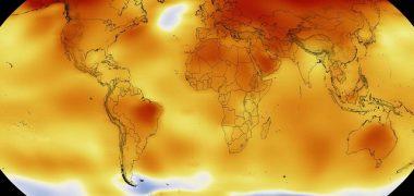 la planète en surchauffe